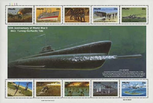 1993 Palau WWII 50th Anniversary