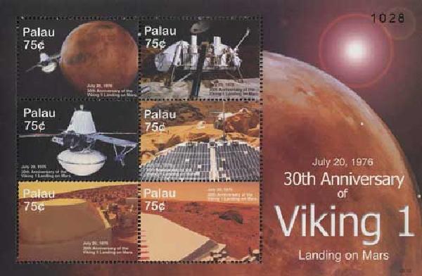 2006 Palau 30th Anniversary Viking 1