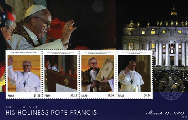2013 Palau Election of Pope Francis 4v
