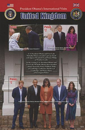 2016 The Obamas Visit the Royal Family