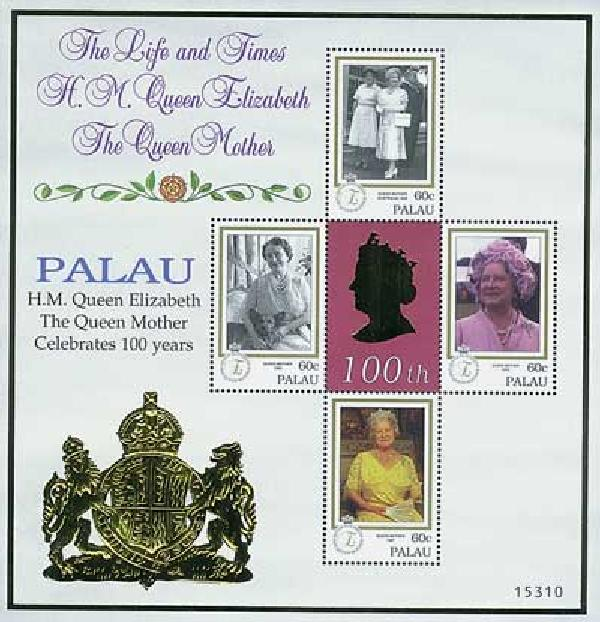 2000 Palau Queen Mother