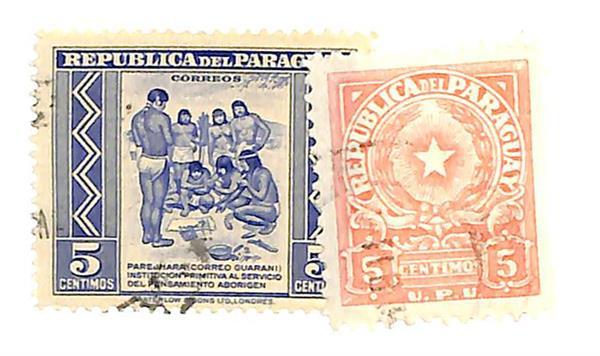 1946-50 Paraguay