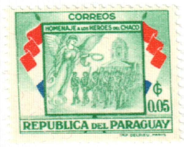 1957 Paraguay