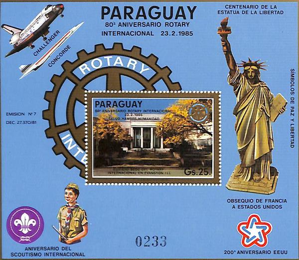 1985 Paraguay