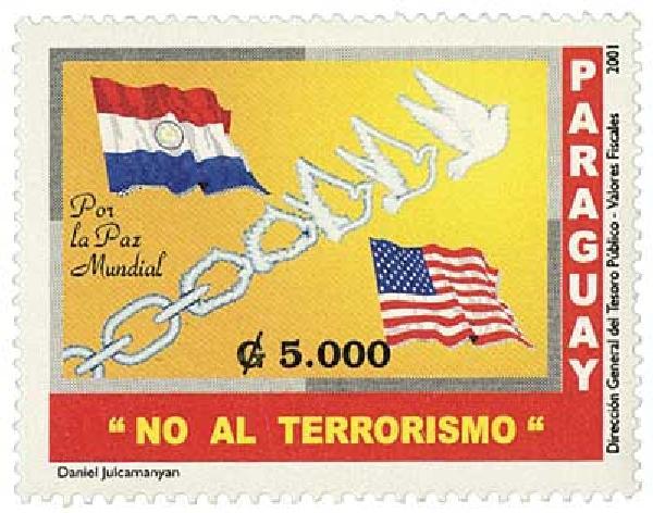 2001 Paraguay #2683-84 2v Mint