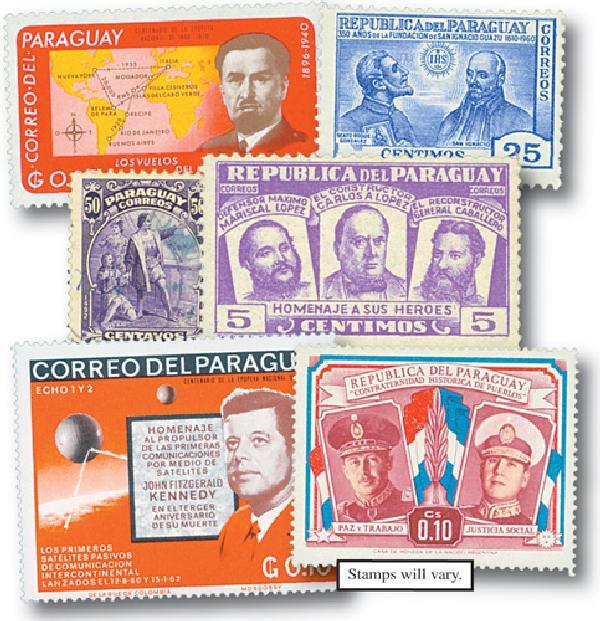 Paraguay, set of 700