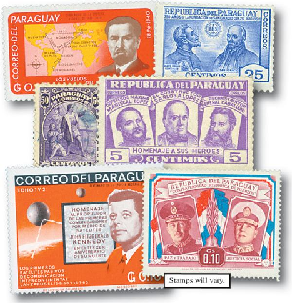 Paraguay, 600v