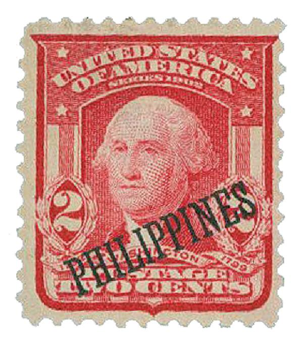 1903 2c Philippines, carmine