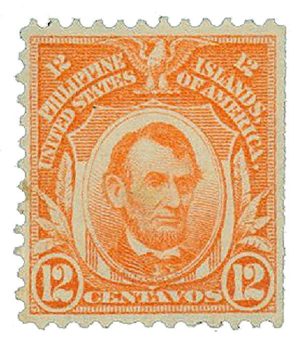 1911 12c Philippines, orange
