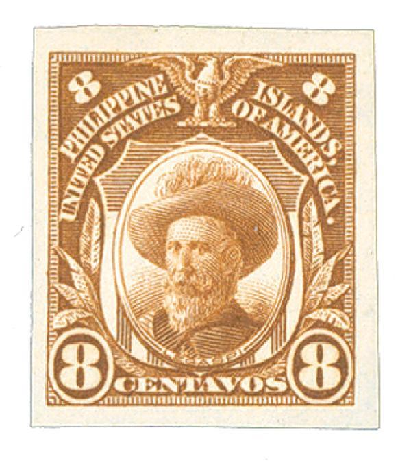 1931 8c Philippines, brown