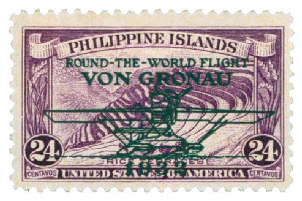 1932 24c Philippine Islands Airmail, deep violet