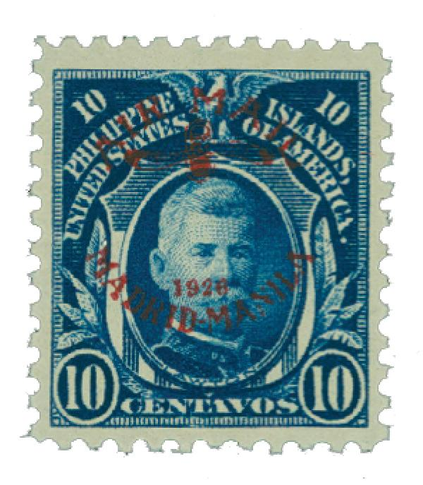 1926 10c Philippine Islands Airmail, deep blue, unwatermarked, perf 11