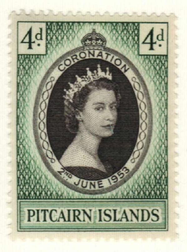 1953 Pitcairn Islands