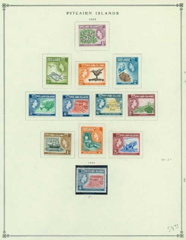 1940-77 Pitcairn Islands