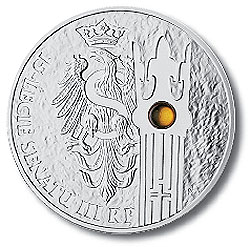 2004 Poland 'Senate' Coin with Amber