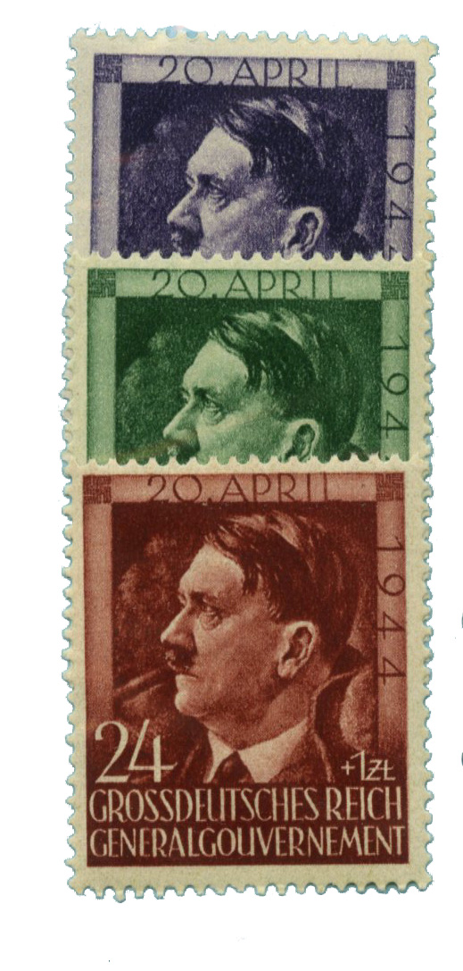 1944 Poland - Commemoration of Adolf Hitler's 55th Birthday