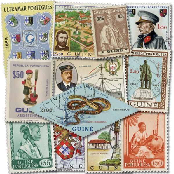 Portuguese Guinea, 50v