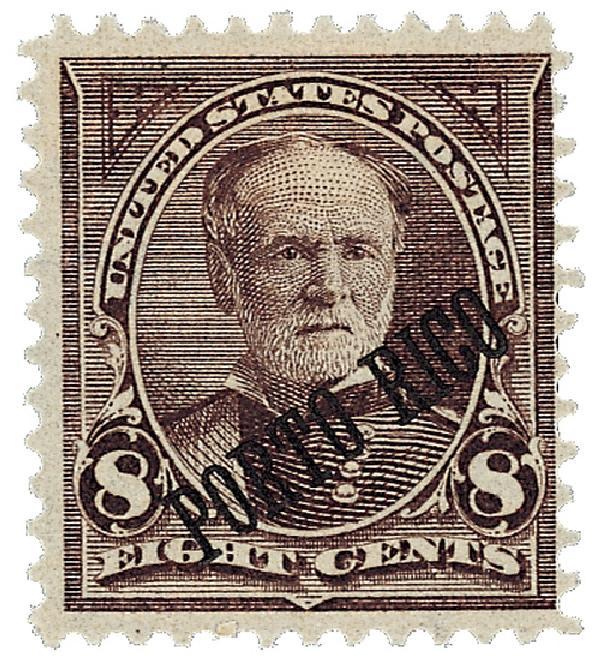 1899 8c vio brn,dl wmk, perf 12