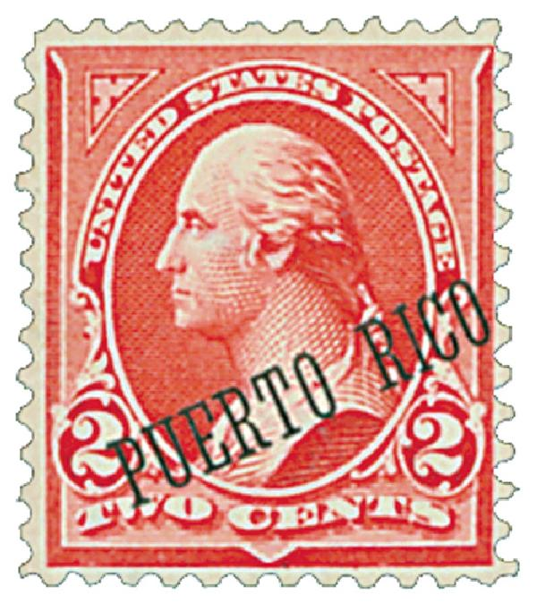 1900 2c red,type IV,ovprnt in blk