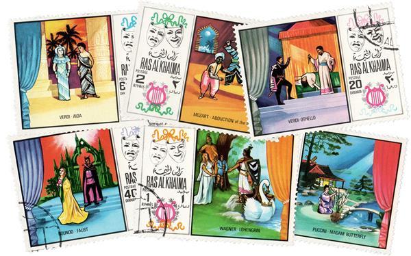 1969 Ras Al Khaima - Scenes from Operas
