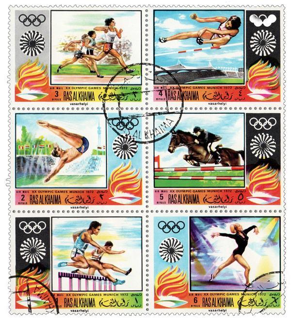 1970 Ras Al Khaima - 1972 Munich Olympics