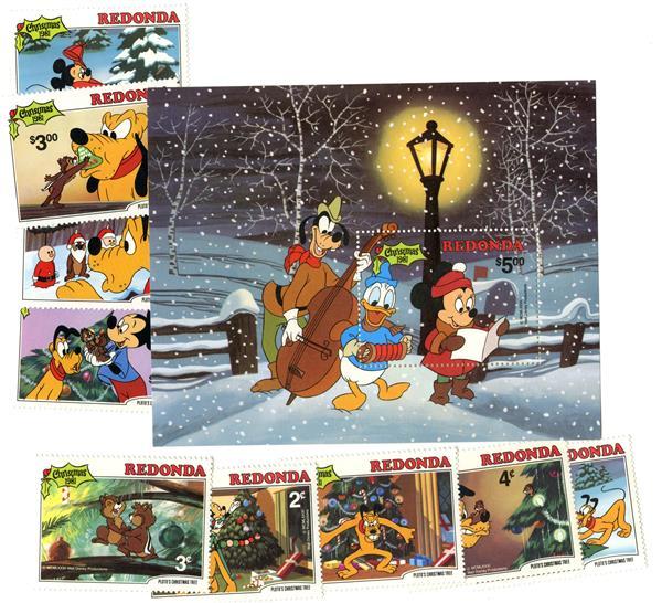 Redonda 1981 Christmas