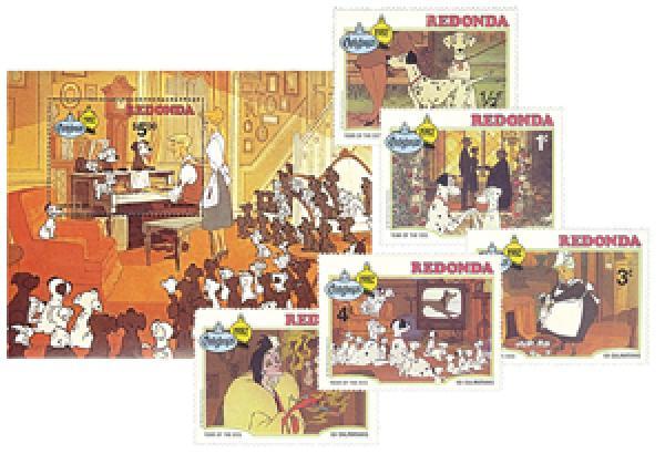 Redonda 1982 Christmas
