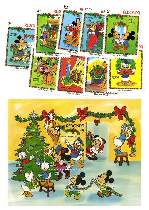 Redonda 1983 Christmas