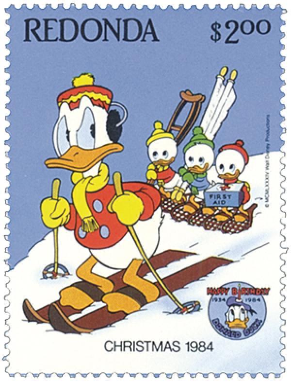 Redonda 1984 Donald Duck