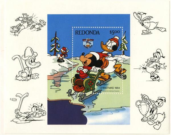 Redonda 1984 Donald skating, S/S