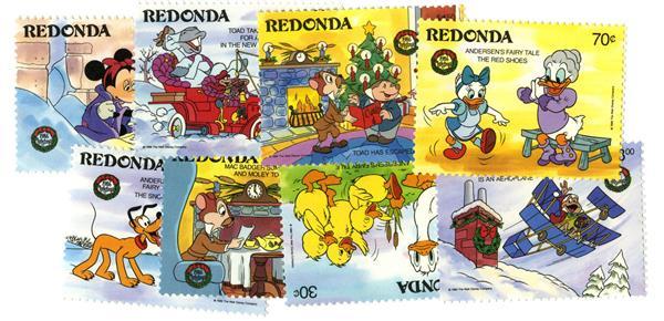 Redonda 1986 Christmas