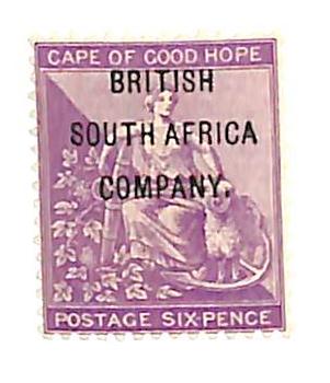 1896 Rhodesia
