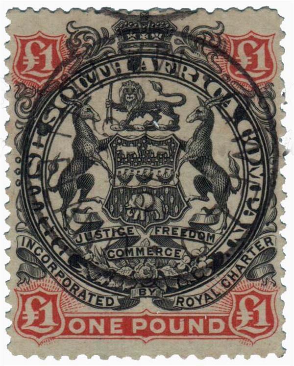 1897 Rhodesia
