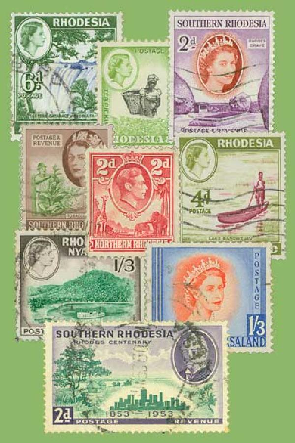 Rhodesia, 25 stamps
