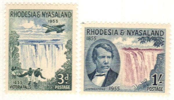 1955 Rhodesia & Nyasaland