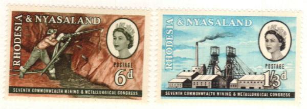1961 Rhodesia & Nyasaland