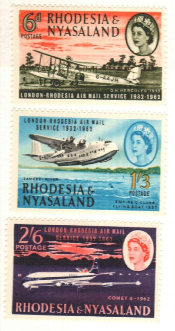 1962 Rhodesia & Nyasaland