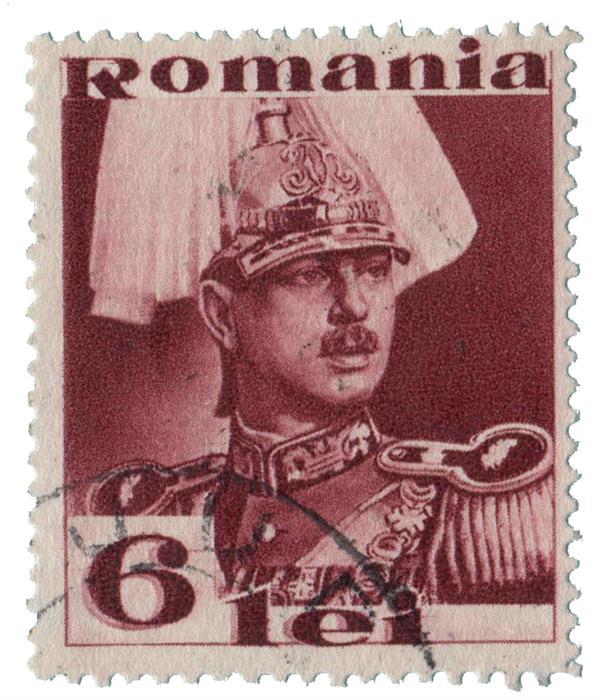 1934 Romania King Carol II
