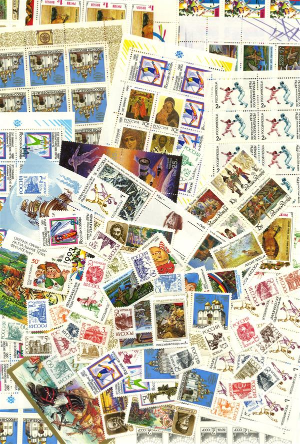 1992 Russia Mint Year Set of 93 Stamps