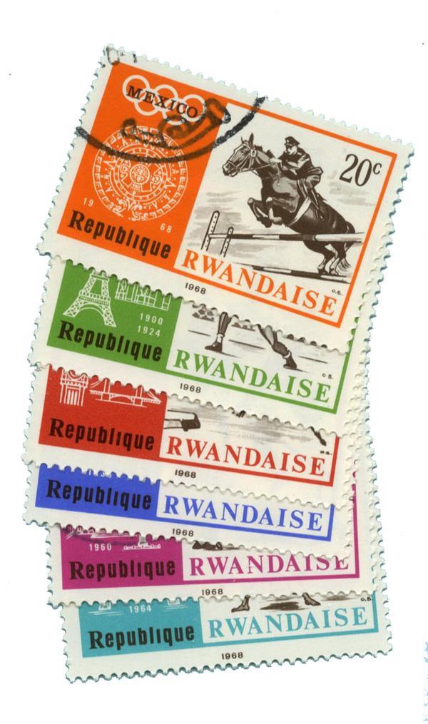 1968 Rwanda