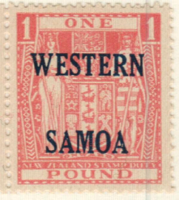 1948 Samoa