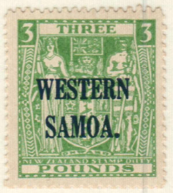 1950 Samoa
