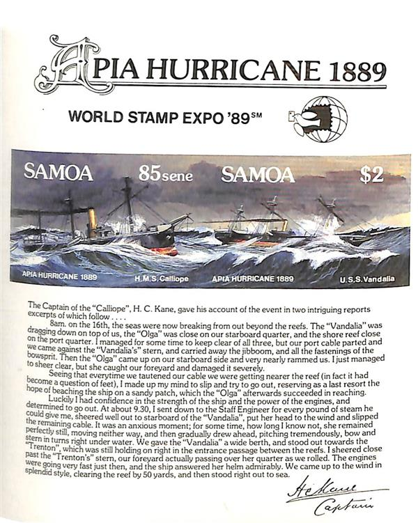 1989 Samoa