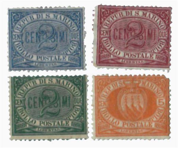 1877-95 San Marino