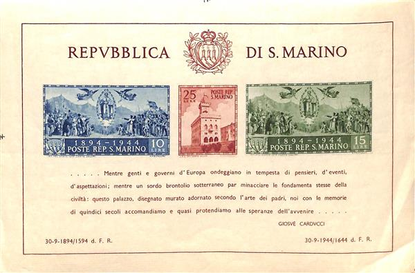 1945 San Marino