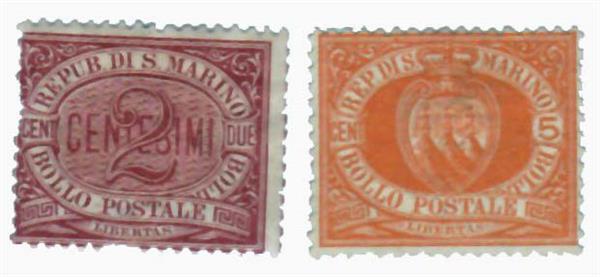 1890-95 San Marino