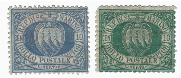 1877-92 San Marino