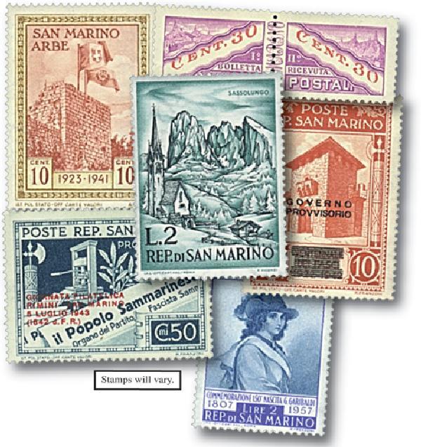 San Marino  50v