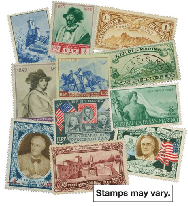 San Marino, 300 stamps