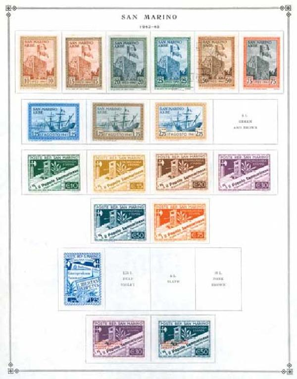 1877-1975 San Marino